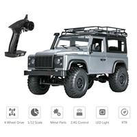 MN 99s-coche todoterreno teledirigido 2,4G 1/12 4WD RTR Crawler, camión todoterreno para modelos de vehículos Land-Rover con cuerpo enorme como D90, juguetes de regalo para niños