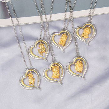 Dog Heart Necklace  6