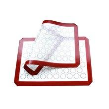 Durable Safe Reusable Fiberglass Non-stick Food-grade Silica Gel Mat Kitchen Accessories