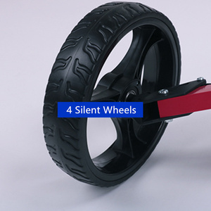 Image 5 - JayCreer chariot de Golf Portable pliable avec 4 roues, couleur noire, couleur aléatoire