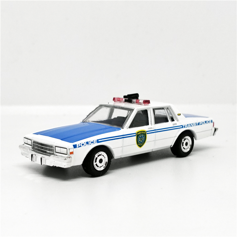 Greenlight 1:64 1989 Chevroler Caprice New York Transit Police White/Blue No Box