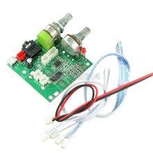 DC 5V 20W 2.1 Çift Kanallı Sınıf D ses amplifikatörü 3D Surround Stereo Dijital güç amplifikatörü Kurulu AMP Modülü arduino için