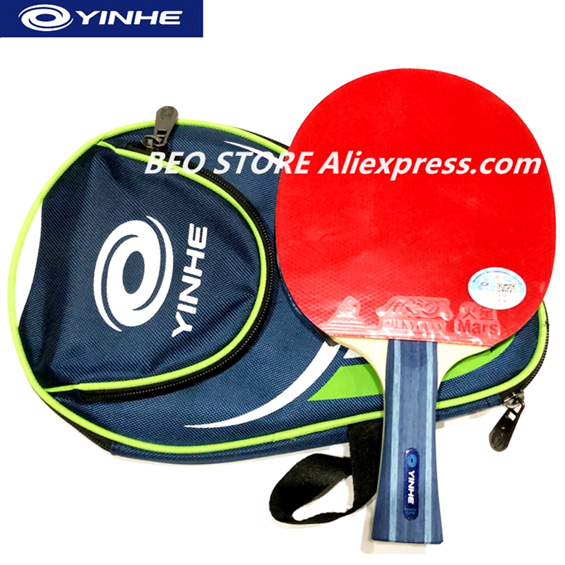 YINHE 5-star 7-star Racket Galaxy Training Pure Wood Pips-in Rubber Table Tennis Rackets Ping Pong Bat