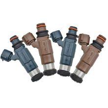 Injector De Combustível Bicos 4x INP 780 INP780 INP 781 INP781 Para Mazda Protege 2000 2002 626 2.0L 1.8L INP780 INP781 FP3313250