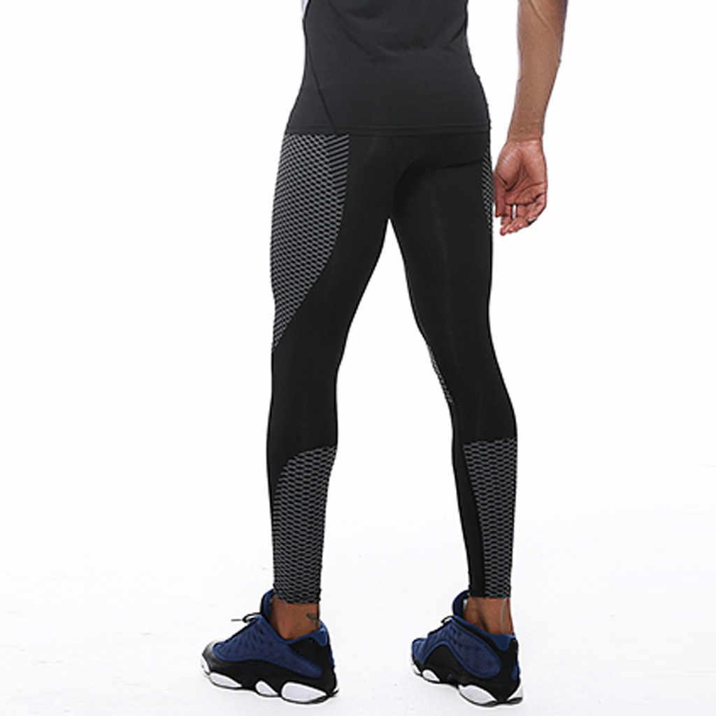 屋外レギンスストリートパンツ男性スポーツレギンスフィットネス速乾性ズボンスリムフィットウェットジョギング