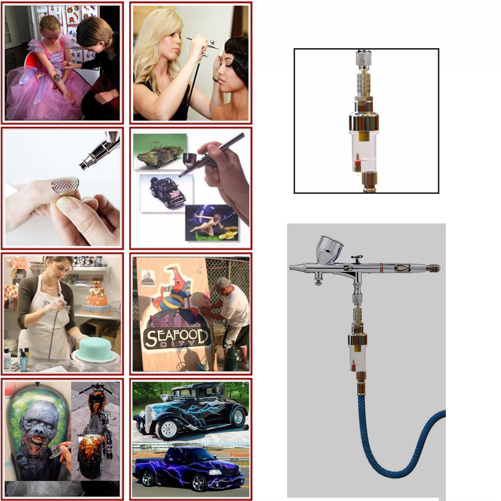 Dual-Action-Airbrush-With-Compressor-0-2mm-0-3mm-0-5mm-Spray-Air-Brush-Nail-Art