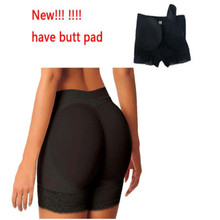 Women Butt Lifter Shaper Pad Buttock Enhancer Underwear Panties Brief Hip Up Plus Size