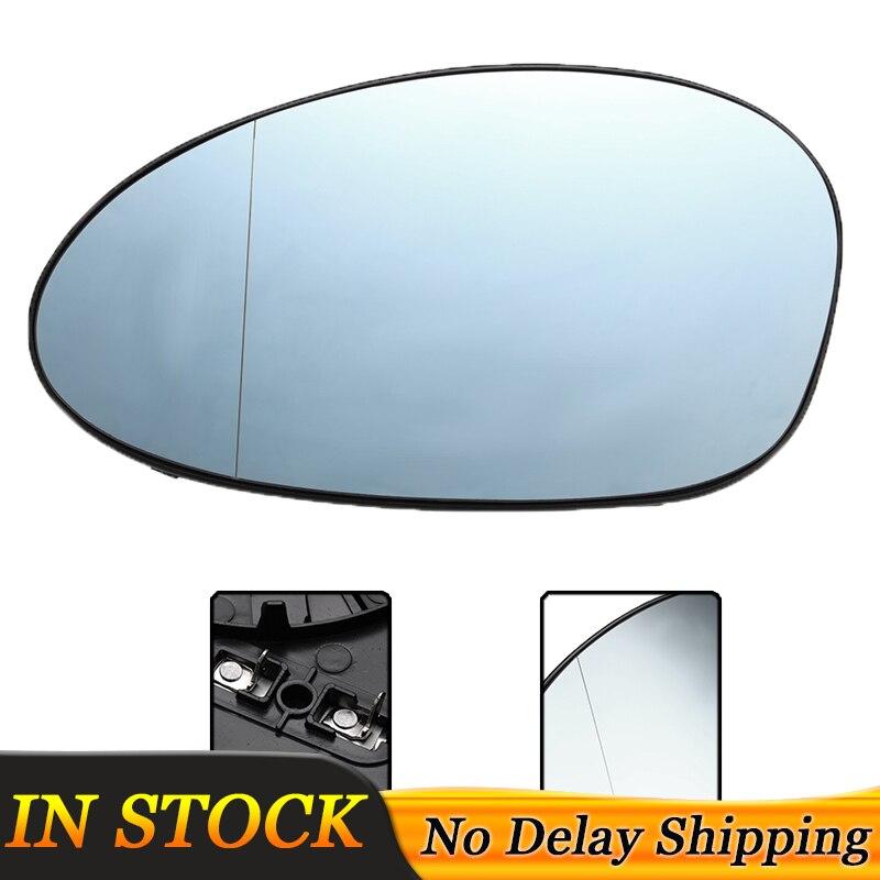Left Blue Heated Wing Mirror Glass For BMW  E90 E91 05-08 E82 E87 E88 E85 Z4 E92
