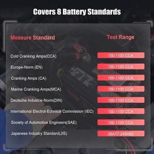 Image 5 - FOXWELL BT100 PRO 6V 12V Car Battery Tester For Flooded AGM GEL 100 to 1100CCA 200AH Battery Health Analyzer Diagnostic Tool
