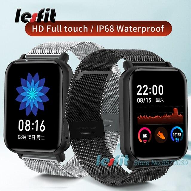 Lesfit inteligentny zegarek dla dziecka chłopiec dziewczyna wodoodporny Smartwatch Bluetooth smart-zegarek Sport Android zegar elektroniczny dziecko wiek 3-18 lat