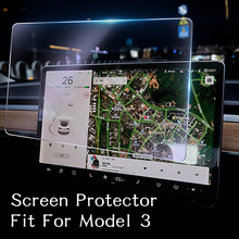 Auto Zubehör Center Control Touchscreen Navigation Touch Screen Protector Für Tesla Modell 3