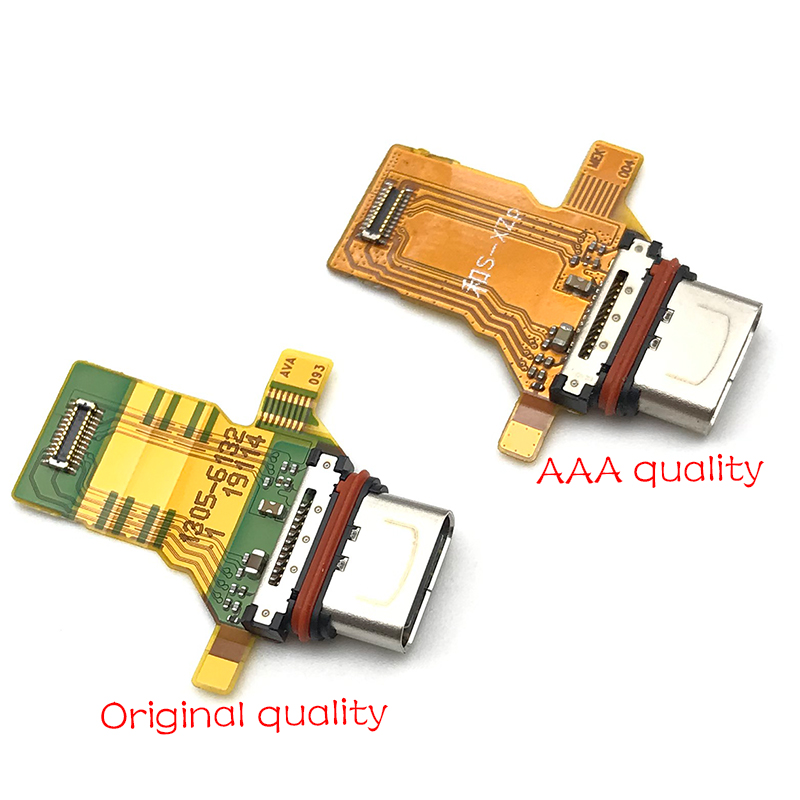New For Sony Xperia XZ Premium XZP G8142 Charger Charging Port Ribbon Flex Cable Micro USB Dock Connector Replacement Parts