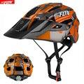 BATFOX мужской женский велосипедный шлем TRAIL XC велосипедный шлем в форме MTB велосипедные шлемы дорожный горный + Защитная крышка легкий велосип...