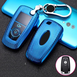 Car Key Case Cover for Ford Fusion Mustang Explorer F150 F250 F350 2017 2018 EcoSport Edge S-MAX Ranger Lincoln Mondeo fiesta