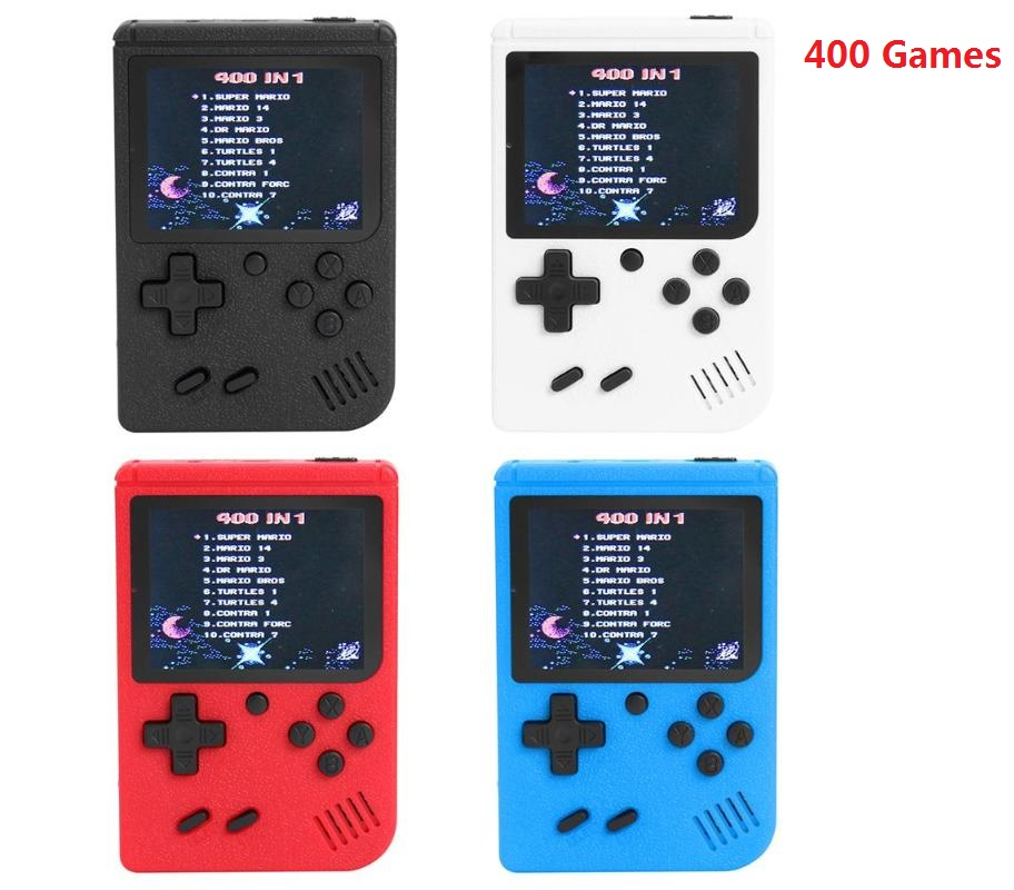 400 Games 3 Inch MINI Portable Retro Video Console Handheld Game Advance Players Boy 8 Bit Built-in Gameboy 3.0 Inch Color LCD