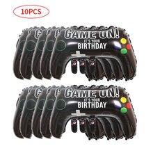 10 шт. надувной геймпад воздушный шар для мальчиков игровой контроллер Фольга Воздушный шар с днем рождения украшение игра реквизит