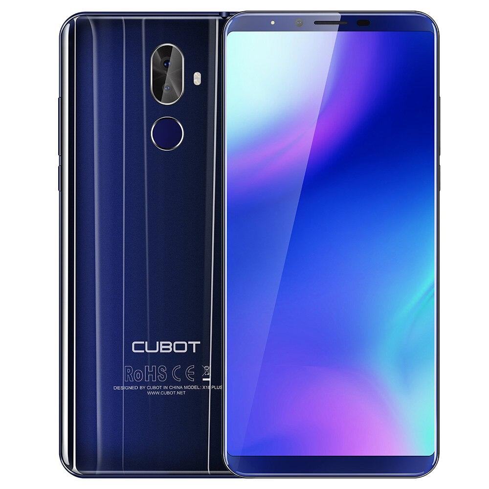 Remodelado cubot x18 plus 4g smartphone 5.99 android android android 8.0 4 gb ram 64 gb rom mtk6750t octa núcleo duplo cam telefone móvel da ue - 3