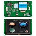 5-дюймовый HMI высокой яркости TFT LCD сенсорный модуль с контроллером + программа для замены HMI & PLC