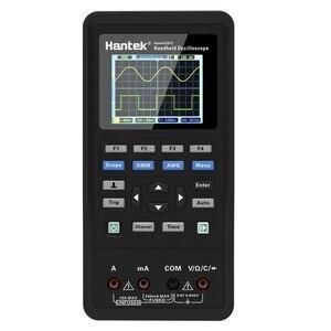 Image 5 - مولد هانتك 2D72 رقمي متعدد الموجات راسم الذبذبات المحمولة 3in1 USB 2 قناة 40mhz 70mhz أفضل مجموعة اختبار