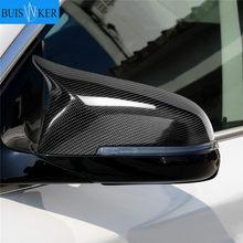 2pcs Capas de Espelho Left Right Side Espelho Retrovisor Capa Cap Para BMW 5 6 7 Série F10 F18 F11 F06 F07 F12 F13 F01 2014 2015 2016