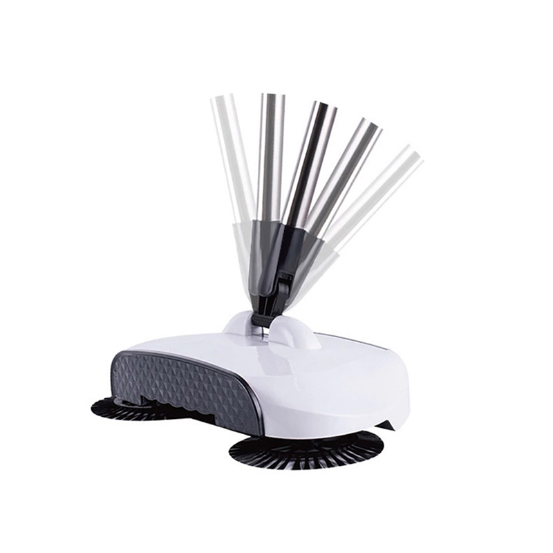Vacuum-Cleaner Sweeper Machine-Handle Dustpan Broom Hand-Push Household Multi-Functional