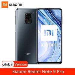Глобальная версия смартфона Xiaomi Redmi Note 9 Pro 6 ГБ 64 Гб 128 ГБ NFC Snapdragon 720G 64-мегапиксельная четырехъядерная камера 6,67 дюймDotDisplay 5020 мАч
