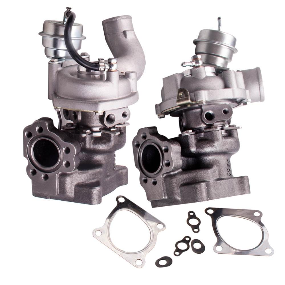 Otomobiller ve Motosikletler'ten Turbo Şarj ve Parçaları'de Audi için RS4 S4 2.7L ASJ K04 025 K04 026 Turbo Turbo K0316/17 yükseltme title=