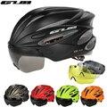 GUB защитный шлем для горного и дорожного велосипеда  кепка  шлем с козырьком  сверхлегкие Регулируемые очки K80 PLUS