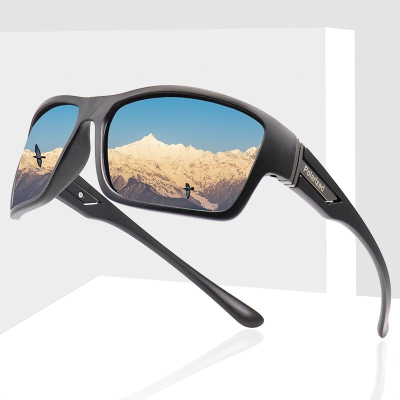 Новинка 2020, поляризованные солнцезащитные очки, мужские роскошные брендовые дизайнерские очки для вождения, мужские солнцезащитные очки д...