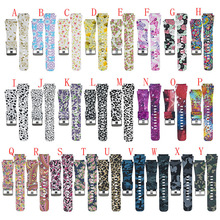 For Samsung Gear S3 Classic/Fronti floral print Soft Rubber Sport Watch Strap Band Quick Release Fashion Silicone