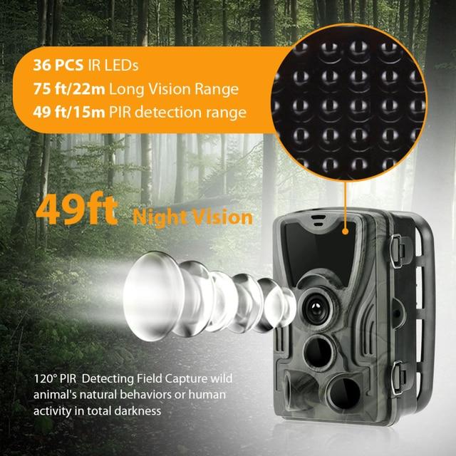 Goujxcy HC-801A – Tallentava riistakamera