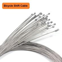 5 szt Kable do zmiany biegów rowerowych do roweru szosowego i górskiego kabel wewnętrzny przerzutka ze stali nierdzewnej akcesoria rowerowe tanie tanio Bike Front Rear Shift Cable Silver Stainless Steel Mountain Bike Derailleur Road Bike Derailleur 1500mm 2100mm 1 15mm