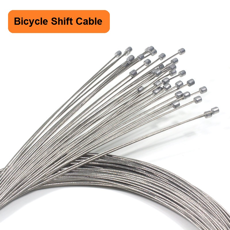 5PCS Bicycle Shift Cables Mountain Road Bike Shift Inner Cable Stainless Steel Derailleur Cable Bike Accessorie