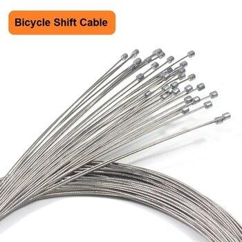 5PCS Fahrrad Shift Kabel Mountain Road Bike Shift Inneren Kabel Edelstahl Schaltwerk Kabel Fahrrad Zubehör-in Kabel & Gehäuse aus Sport und Unterhaltung bei