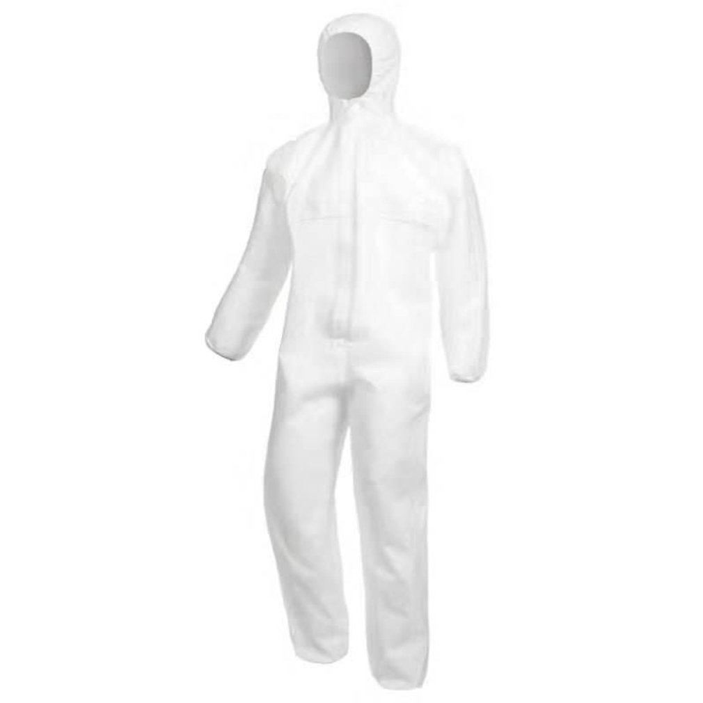 1pc White Protective Clothing Insulation Thermal Seal To Prevent Viruses Medical Personnel Numbers