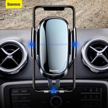 Baseus Gravity Car Phone Holder Bracket Round Air Outlet Ven