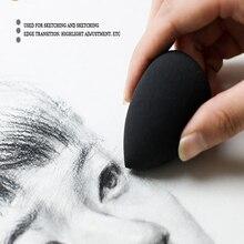 Painting Brush-Brush Pen Sponge Absorbent Special-Paper Art Refers Sketch-Rubbing Daub