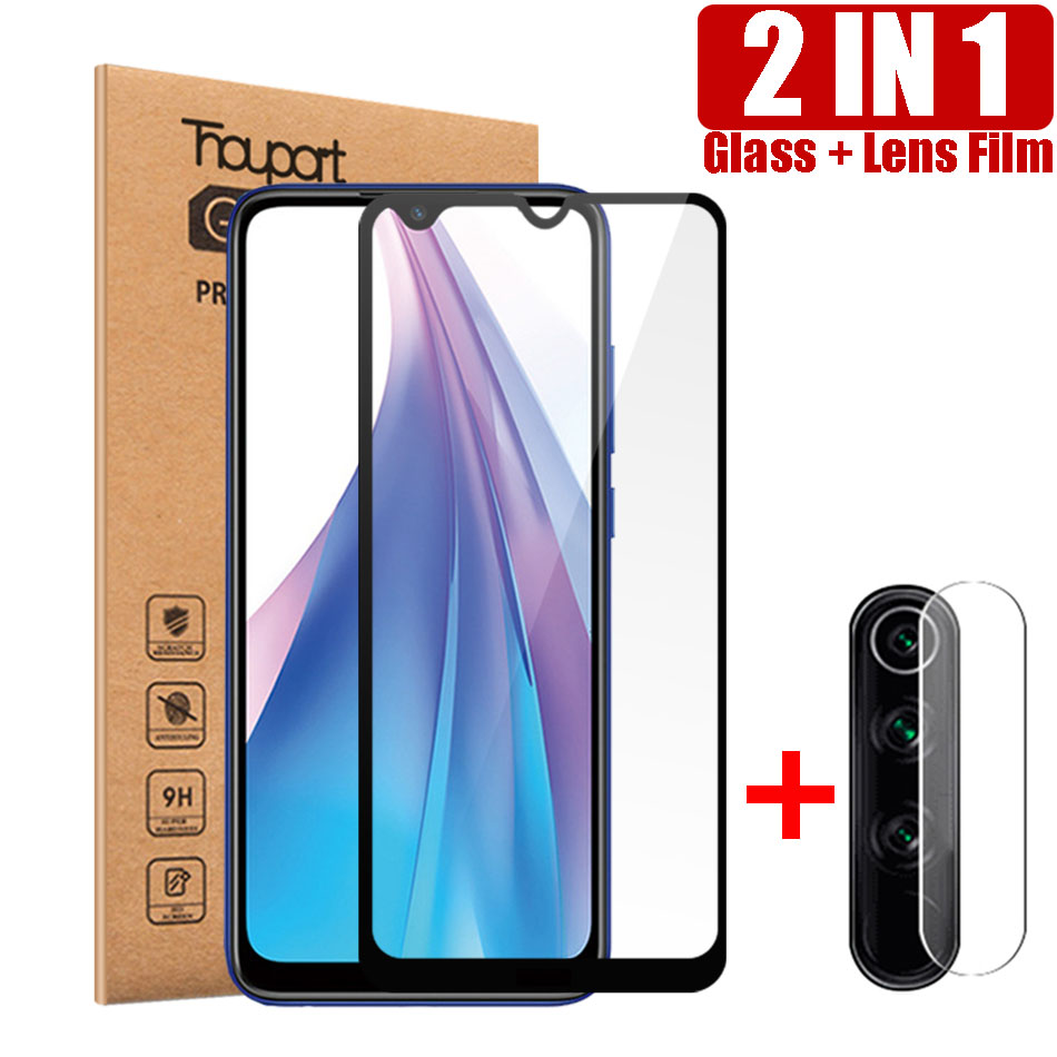 Thouport Tempered  Glass For Xiaomi Redmi Note 8 Pro 8T Redmi 8 8A Screen Protector For Xiaomi Note 8 Glass Camera Protector