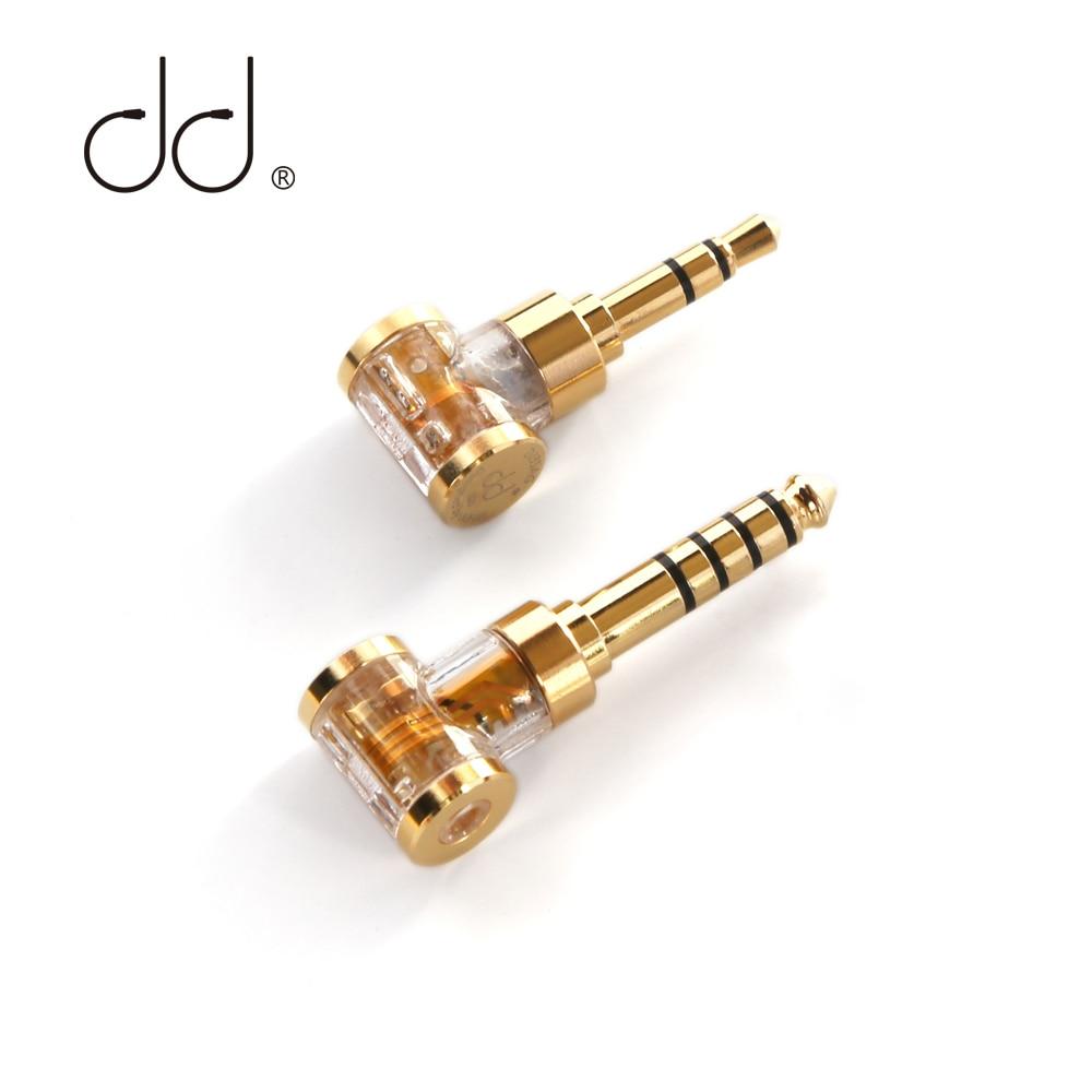 DD ddHiFi DJ35AG/ DJ44AG adattatore Jack per cuffie maschio bilanciato da 2.5mm femmina a 3.5mm/4.4mm, convertitore Audio per auricolare/DAP