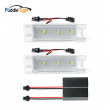 2Pcs Canbus Error Free White LED Number License Plate Lights For Opel Astra H J  Corsa Insignia Meriva Tigra B Twintop Vectra цена 2017