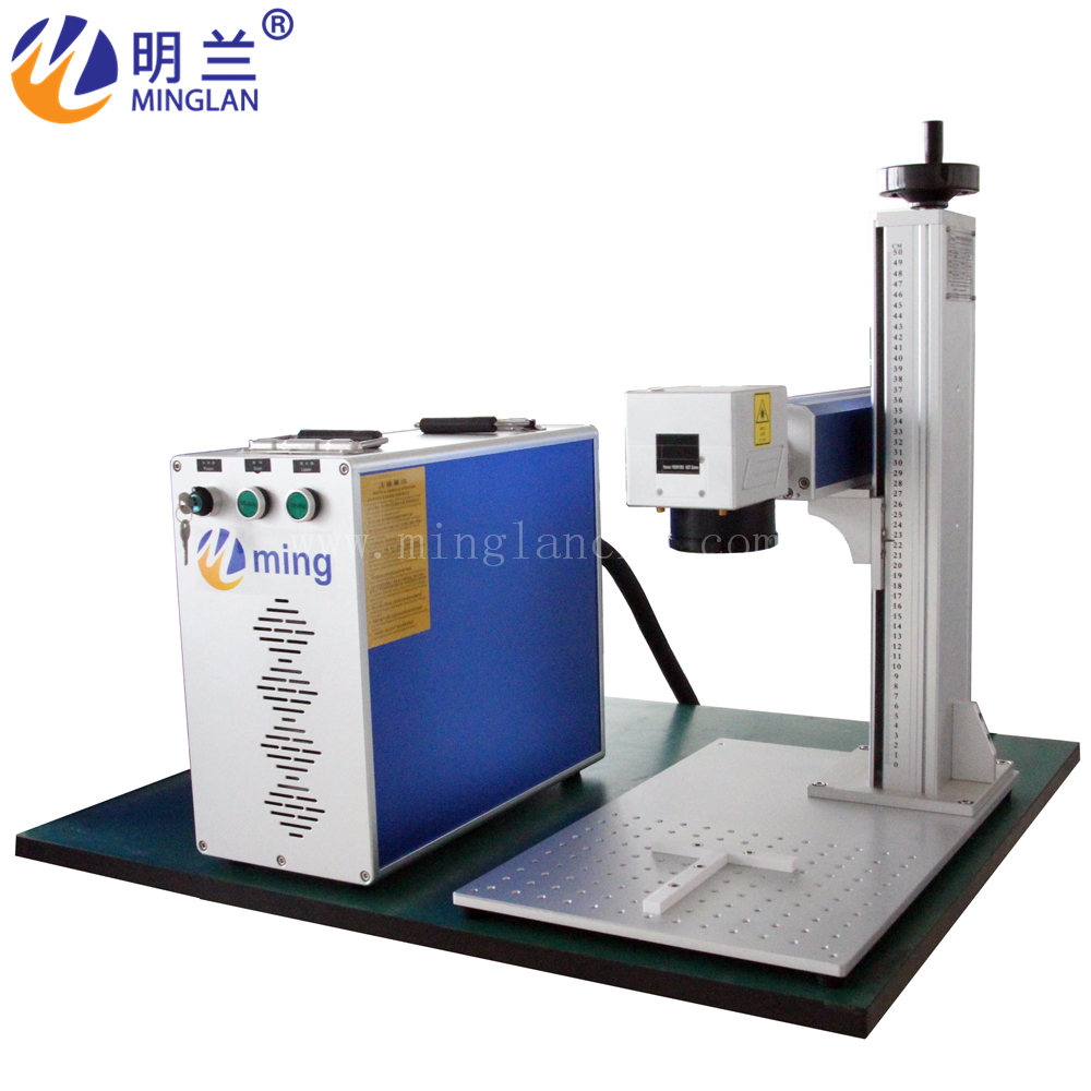 Quality Products Laser Equipment 20W Portable Fiber Laser Marking Machine