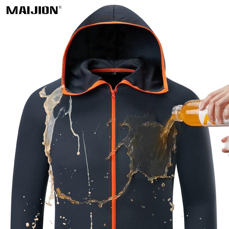 masculino impermeavel caminhadas jaquetas hidrofobicas roupas ao ar livre respiravel acampamento pesca casacos com capuz secagem