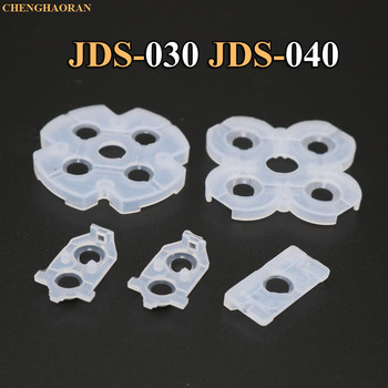 1set JDS030 040 010 001 For Playstation 4 Dualshock Silicone Rubber Conductive Pads For PS4 Controller Repair Parts Replacement silicone conductive pad kit replacement for sony ps4 playstation 4 controller