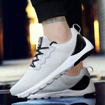 2020 New Popular Spring Autumn Men Running Shoes Fashion Men's Mesh Breathable Wearable Outdoor Lightweight Sports Shoes