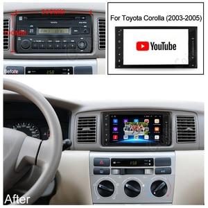 Image 4 - 2din Universal android 9.0 auto Radio Player Stereo Auto Multimedia Player Für toyota corolla VIOS CROWN CAMRY HIACE PREVIA RAV4