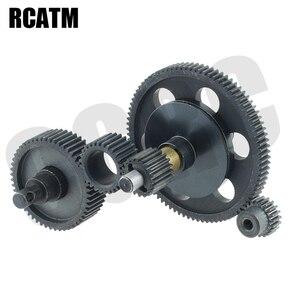 Полный металлический комплект, коробка передач для 1/10 RC Crawler Car Axial SCX10 OP, детали для модернизации