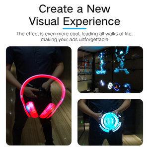 ZIoT HD Z3D60/70 60/68cm Wifi 3D Holographic Projector Hologram Player LED Display Fan Advertising Light