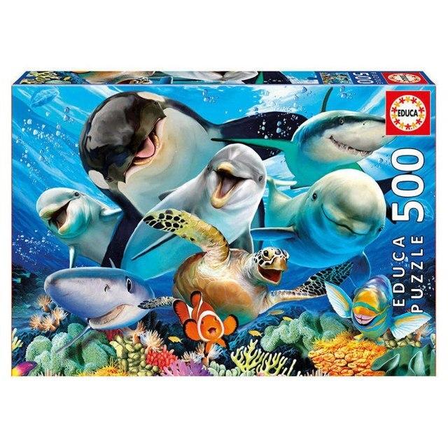 Пазл Подводное селфи Educa 500 деталей