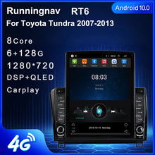 "9,7 ""Android 10,1 para Toyota Tundra 2007 2013 Sequoia 2008 2018 Tesla tipo auto Radio Multimedia Video Player navegación GPS RDS"