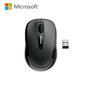 Manufacturer refurbished : Microsoft 3500 Blue Track Wireless Mouse 2.4G 1000DPI with Nano receiver for laptop PC